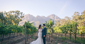 Top Ten Wine Farms to get married at in South Africa - Editor's Pick