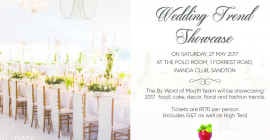 By Word of Mouth - Wedding Trend Showcase