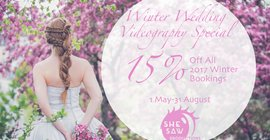 She Saw Productions - Winter Special -15% OFF your Videography