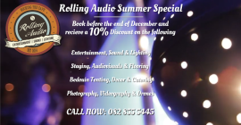 Rolling Audio Summer Special