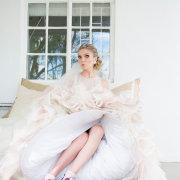 bride, dress