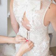 dress, lace