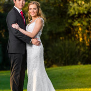 bride and groom, suit, wedding dress