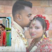 headpiece, jewellery, makeup, sari, indian