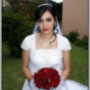 bouquet, jewellery, tiara