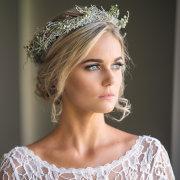 flower crown, hair, makeup
