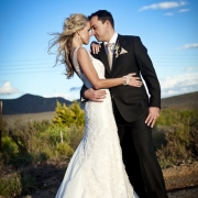 hairstyle, mountain, suit, wedding dress