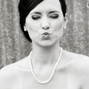 black and white, bride, jewellery