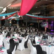 decor, reception, table
