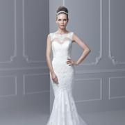 headpiece, wedding dress