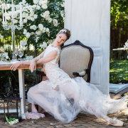 decor, open back wedding dress, wedding dress