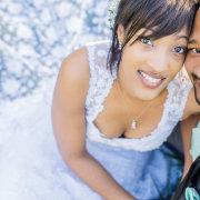 bride and groom, hair, makeup