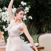 bride, hairstyle, headpiece, wedding dress