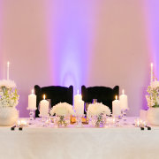 candles, decor, table