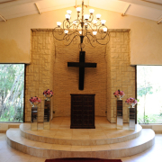 chapel, wedding chapel, altar