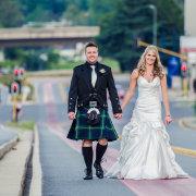 kilt, wedding dress