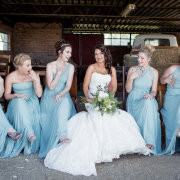 bridesmaids dress, wedding dress