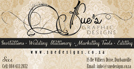 Sue's Graphic Designs