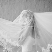 dress, lace, veil, wedding