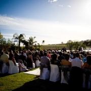 outside ceremony, outside wedding