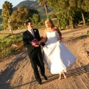 wedding venue, gravel road