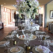 reception, table setting