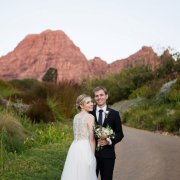 bride and groom, suit, wedding dress, mountain