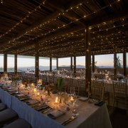 candles, lighting, outdoor, reception