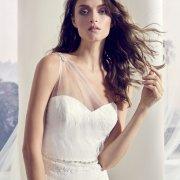 dress, wedding dress, hair