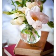 decor, flowers, table setting