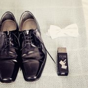 bowtie, shoes