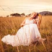safari, wedding dress