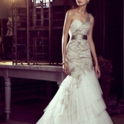bridal wear, wedding dress, silver, wedding dress, white