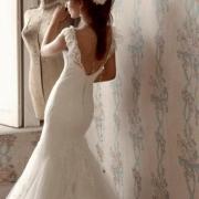 bridal wear, wedding dress, wedding dress, mermaid