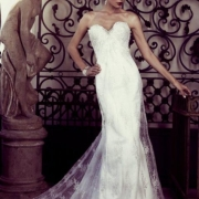 bridal wear, wedding dress, lace, wedding dress, white