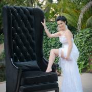 chair, garter