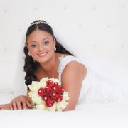bouquet, tiara