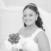 bouquet, hairstyle, jewellery, tiara, veil