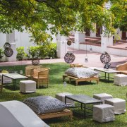 decor, seating, winelands