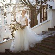 bouquet, dress, venue, winelands, wedding dress