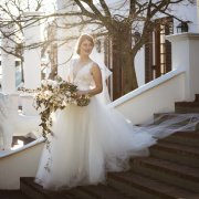 bouquet, dress, venue, winelands, wedding dress