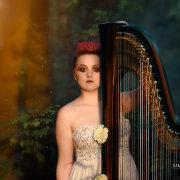 entertainment, hair, hair, hair, harp, makeup, music