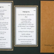 wedding invitation, wedding stationery
