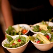 salad, catering
