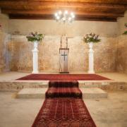 altar, aisle