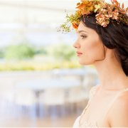 flower crown, make up, makeup