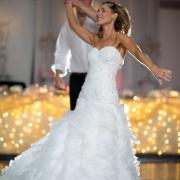 dance, wedding dress