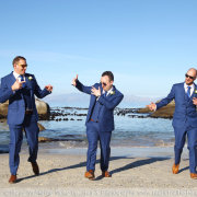 beach, groomsmen, suit