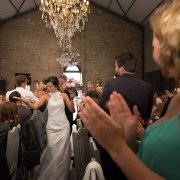 bouquet, bridal party, chandelier