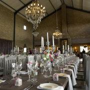 centrepiece, chandelier, table
